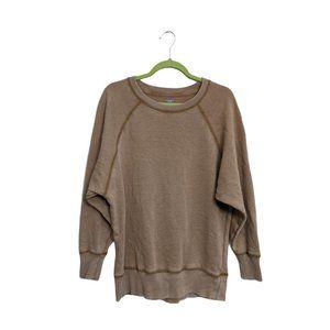 Aerie Happy Camper Raglan Sleeve Sweatshirt S